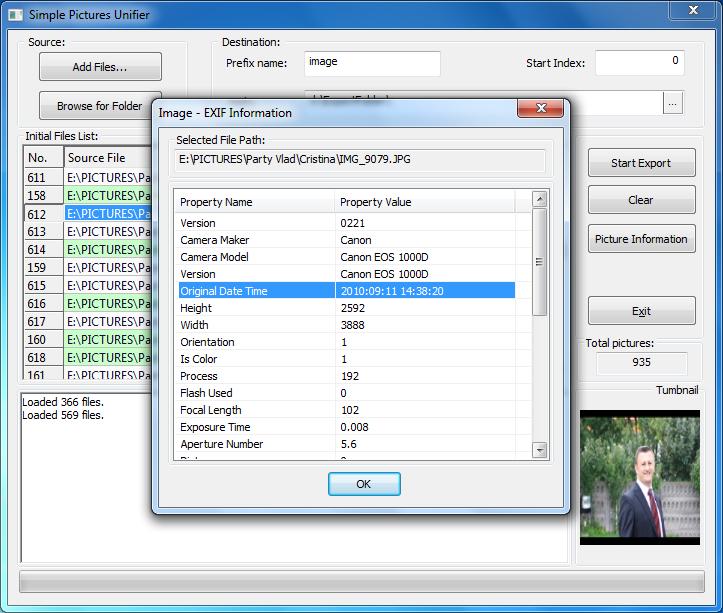 Simple Picture Unifier application