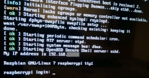 Raspbian OS Boot